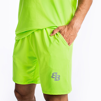 Pantalon BB hombre verde fluor